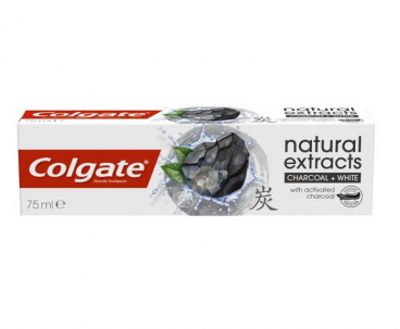 Паста за зъби Colgate Natural Extracts с активен въглен 75 мл