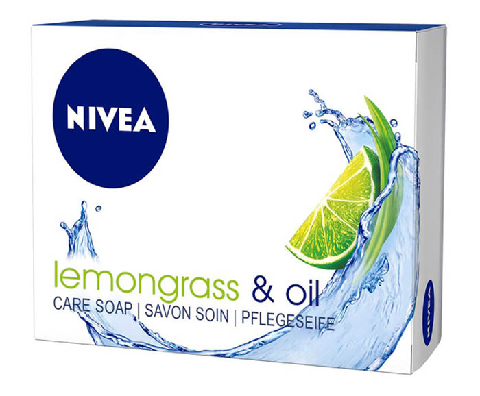 Сапун Nivea Lemongrass & Oil 100 г