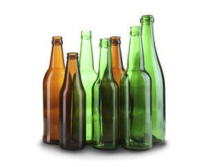 Бира в стъклени бутилки